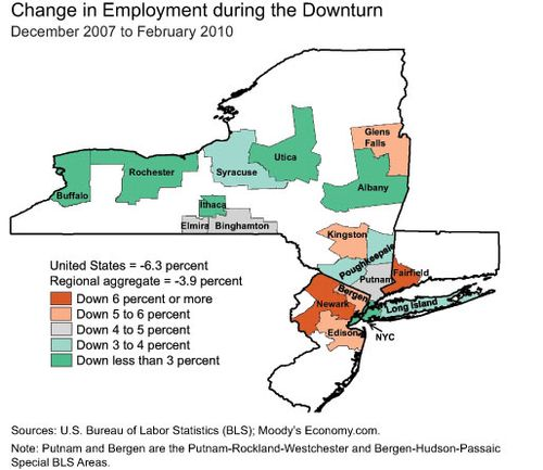 Map Of New York Tri State Area.The Great Recession And Recovery In The Tri State Region Liberty