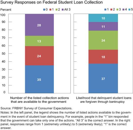Survey Responses on Federal Student Loan Collection