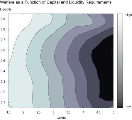 Welfare-as-a-Function-of-Capital-and-Liquidity-Requirements