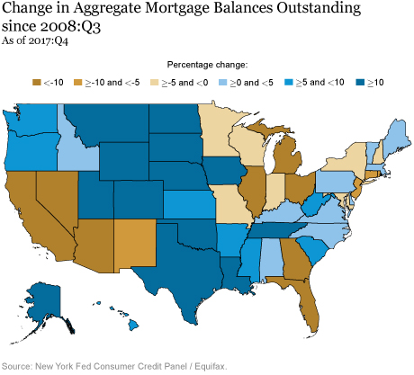 Just Released: Great Recession's Impact Lingers in Hardest-Hit Regions