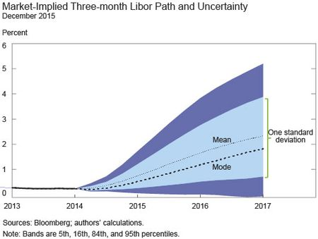 Market Implied 3-Month LIBOR Path Uncertainty