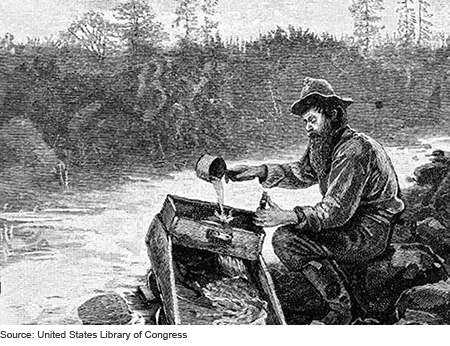 the california gold rush essay - the california gold rush was the significant national event of its time (california gold rush: a look to the past) this legendary story begins with one man john sutter, one of the richest people in the area, moved to california 1839 with the intent on building his own private empire.