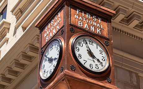 LSE_Historical Echoes: Tickety-Tock, the Bank with the Clock, or Not Just a Pretty Face