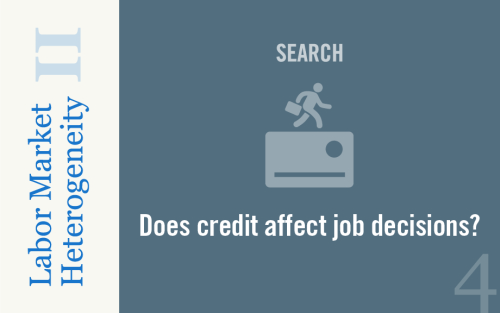 How Does Credit Access Affect Job-Search Outcomes and Sorting?