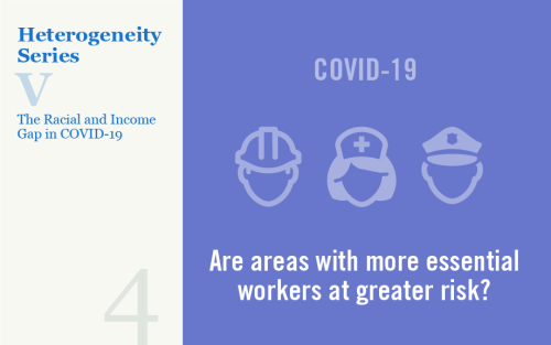 Understanding the Racial and Income Gap in COVID-19: Essential Workers