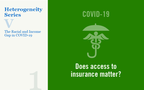 Understanding the Racial and Income Gap in Covid-19: Health Insurance, Comorbidities, and Medical Facilities