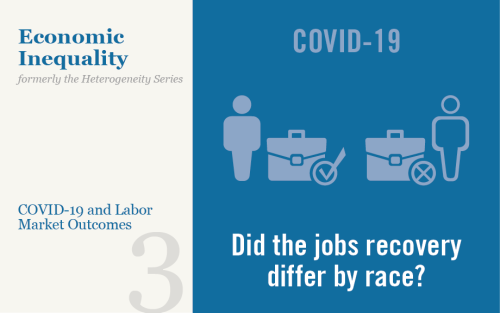 Black and White Differences in the Labor Market Recovery from COVID-19